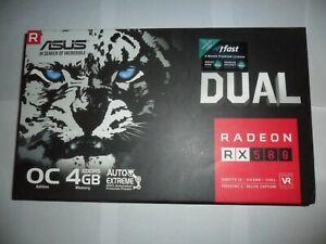 ASUS Radeon RX 580 Dual OC Edition 4GB GDDR5 Graphics Card / GPU