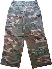 "BLUE BAY CAMO CAMOUFLAGE PANTS MEN'S COTTON 32"" W 31"" L FREE SHIPPING!!"