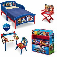 Paw Patrol Room in a Box Bed Desk Toy Organizer Director's Chair