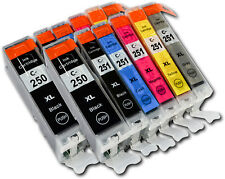 2 Sets of 6 PGI-250/CLI-251 XL non-OEM Inks (inc Grey) for Canon MG7120 MG7520