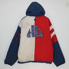 Vintage Howard Bisons University Starter NCAA 1/4 Zip Insulated Jacket Size L