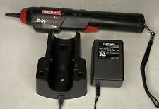Craftsman Brite Driver Screwdriver Drill, Rechargeable W/ Charger 2.4V