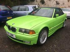 1999 BMW 323i 2.5i E36 CONVERTIBLE STARTS+DRIVES SPARES OR REPAIRS
