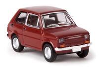 BREKINA 22364 - Fiat 126, colore rosso ossido   HO 1:87