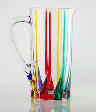 "Pitchers - ""Venetian Carnevale"" Crystal Pitcher"
