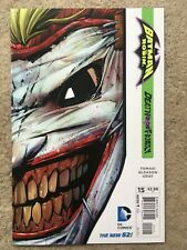 Batman And Robin #15 - Death of the Family! - NEW 52 - DC