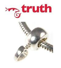 Genuine TRUTH PK 925 sterling silver CARRIER CHARM BEAD for clip on charms