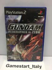 MOBILE SUIT GUNDAM: FEDERATION VS. ZEON - SONY PS2 - GIOCO USATO FUNZIONANTE
