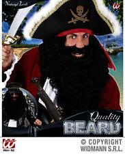 Maxi Barba Nera Pirata Barbanera Biker WIDMANN Black Beard B0533