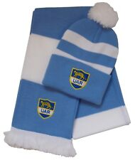 94dc9c1addf Argentina Rugby Bobble Hat and Scarf - Made in the UK