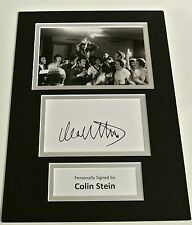 Colin Stein SIGNED autograph A4 Photo Mount Display Glasgow Rangers & COA