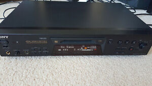 Sony MDS-JE780 Mini Disc Recorder MDLP, NetMD, Keyboard input, remote control