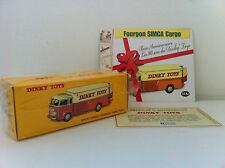 "Dinky Toys Atlas > Simca ""Cargo"" Fourgon 80 ans Dinky Toys"