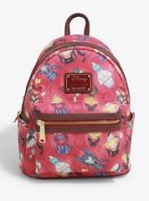 Loungefly Disney Villain Perfume Bottles Mini Backpack