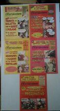 lotto di 5 riviste mensili il vernacoliere di varie annate