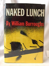 1ST William S. BurroughS NAKED LUNCH GROVE PRESS with scarce pamphlet