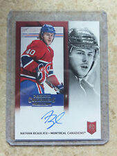 13-14 Panini Contenders Rookie Ticket Auto #242 NATHAN BEAULIEU RC