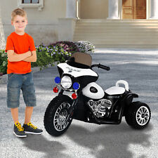 Electric Motorcycle 6V Kid Ride on Car Battery Powered Trike Outdoor Toy Gift