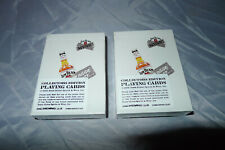 More details for 2x jim beam playing cards collectors edition music 2006 new & sealed