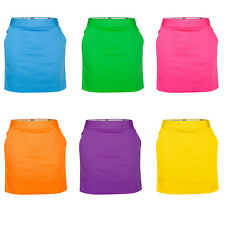Womens Golf Skort by Royal and Awesome 6 Solid Colors Size 2 - 14 Ladies Skirt