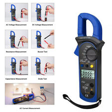 Lcd Digital Clamp Meter Tester Multimeter Amp Acdc Volt Auto Ranging Probe D4k6