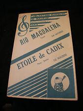 Partition Rio Magdalena de Maurizi Etoile de Cadix Music Sheet