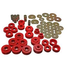 Energy Suspension 3.4138R Body Mount Set Red For 66-70 Chevy Caprice NEW