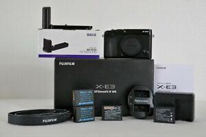 Appareil photo Hybride Fujifilm X-E3 + zoom 18-55mm + accessoires