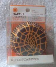 Martha Stewart Halloween Baking Cups Liner 48 Count New