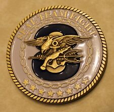 Naval Special Warfare Seal Team 8 Fortune Favors Bold Navy Challenge Coin  Eight