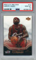 2004-05 Upper Deck Pro Sigs LeBron James #13 Cavaliers PSA 10 (2nd YEAR)