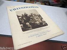 L ILLUSTRATION N° 4666 6 aout 1932 CONTRE TORPILLEUR BISON LEYGUES SOUS MARIN *