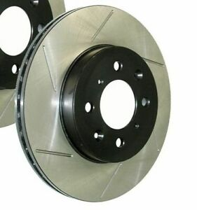 StopTech Slotted Brake Rotor, Front Left (126.66000SL)