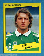 FOOTBALL 98 BELGIO Panini -Figurina-Sticker n. 242 - KLOMP - LOMMEL -New