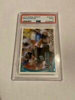 2010 Topps Update MIKE STANTON Rookie Debut RC #US327 Marlins PSA 9
