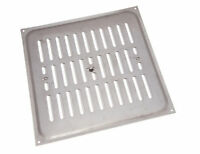 NEW pk 10 X Aluminium Hit And Miss Louvre Vent Ventilation Cover 9 X 9 Inches