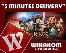 LEGO LORD OF THE RINGS PC STEAM KEY ONLY FAST DELIVERY