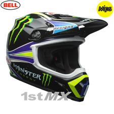 2018 Bell MX9 Pro Circuit Monster Motocross MX Race Helmet MIPS Medium 57-58cm