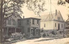 Salisbury Center NY W. A. Dodge Store Barber Pole RPPC Postcard