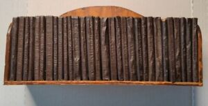 Little Leather Library Holy Bible Complete 30 Books Old/New Testament with shelf
