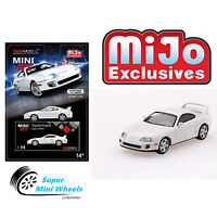 Mini GT Toyota Supra (JZA80) White-LHD MiJo Exclusives Limited (In Storck)