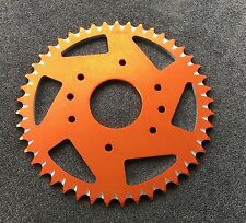 JMP Alu Kettenrad 45 Z KTM 125, 200, 390 Duke, RC 125, #520, orange, sprocket