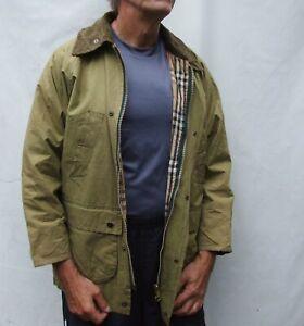 Vintage Burberrys BURBERRY 100% WAXED Cotton Jacket Size M / L