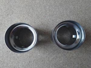 Mini JCW John Cooper Works Genuine Chrome Exhaust tip 18308615860