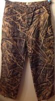 Men's large Mossy Oak camouflage hunting pants