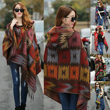 Unbranded Wool Blend Poncho Coats & Jackets for Women