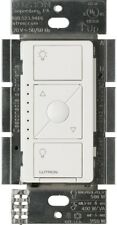 Dimmer Switch Wireless Smart Programmable Lighting In-Wall for Elv+ Bulbs, White