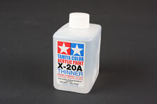 Tamiya #81040 X20A Color Acrylic Paint Thinner 250ml Large Size Plastic RC Model