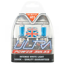 H11 Ultra Power Bright Xenon Gas Filled Bulb White Car Front Headlight Fog 5000K