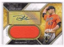 Trey Mancini 2017 Topps Triple Threads Auto Autograph Jersey Relic Serial # 2/99